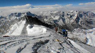 Una imagen del Everest.