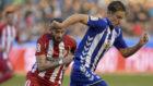 Marcos Llorente juega contra el Atl�tico