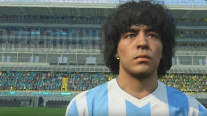 """Maradona a Konami: """"Te vas a comer un juicio millonario"""""""