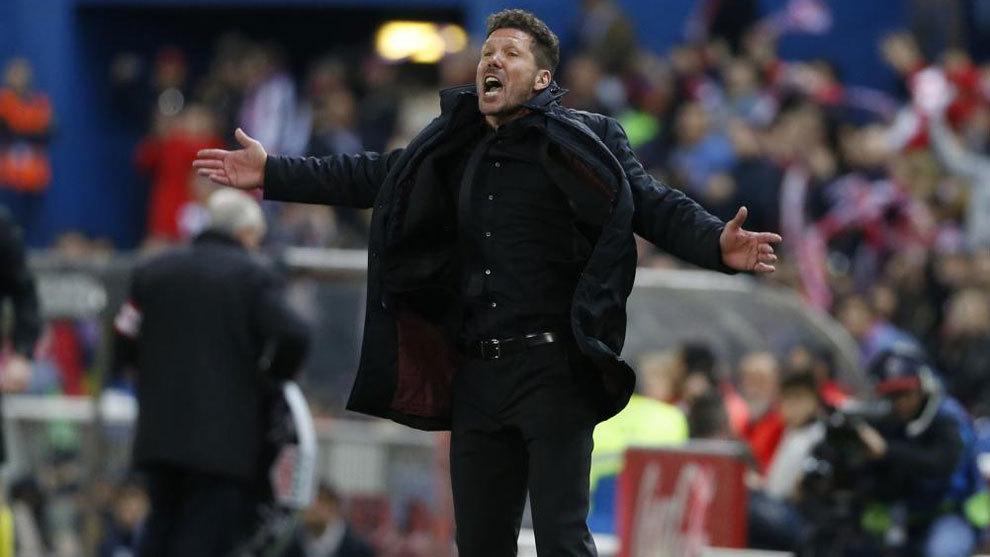 Simeone pide a la hinchada que anime en el partido contra la Real...