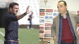 Luis Carrión y José Luis Oltra