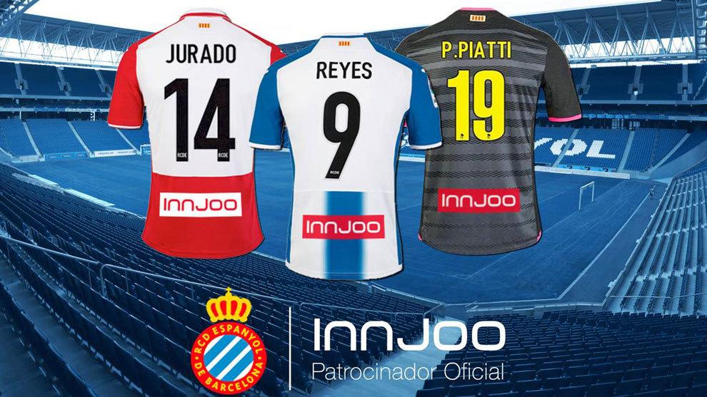 7c3abaeecc0be Las tres equipaciones del Espanyol