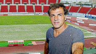 Miguel Ángel Nadal, en un reportaje en el Iberostar