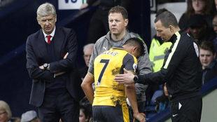 Wenger y Alexis.