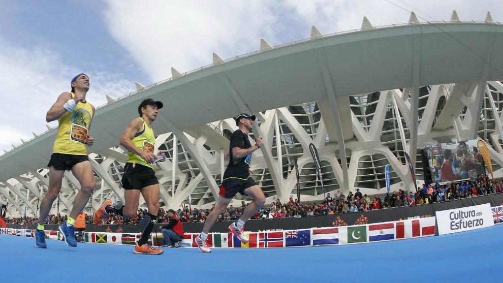 Llegada del Maratón Valencia Trinidad Alfonso EDP en su edición de...