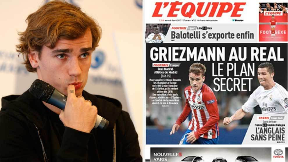 Real Madrid have 'secret' plan to sign Griezmann, according to L'Equipe