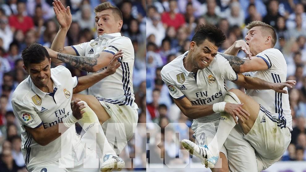 Alarma en el Madrid: Pepe tiene dos costillas fracturadas