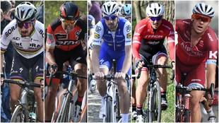 Sagan, Van Avermaet, Boonen, Degenkolb y Kristoff, los favoritos.