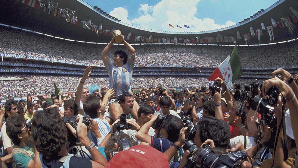 Diego Armando Maradona conquistó el Mundial del 86