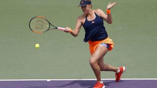 Pavlyuchenkova en el reciente Open de Miami.