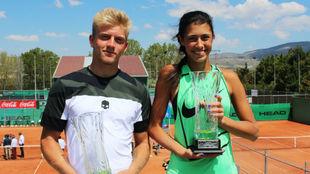 Davidovich y Danilovic, campeones del torneo