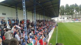 El estadio Municipal de la Virgen, de Villarrobledo.