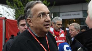 Sergio Marchionne, presidente de Ferrari