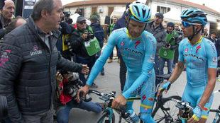 Scarponi en la Tirreno-Adri�tico del a�o pasado.