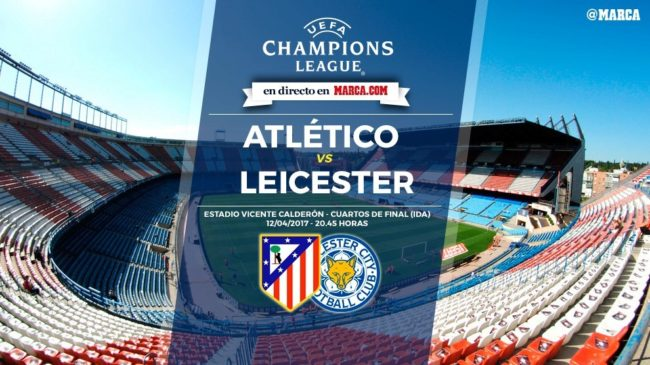 Atlético de Madrid vs Leicester City en directo