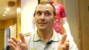 Ivan Basso en una imagen de archivo.