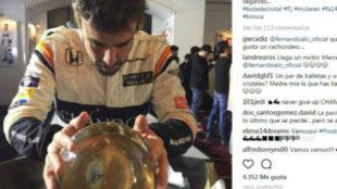 Imagen de la cuenta de Fernando en su red de Instagram.