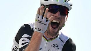 Mark Cavendish en una imagen de esta temporada.