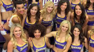 Las mejores im�genes de cheerleaders en la jornada de la NBA