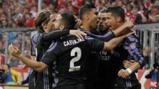 Champions: Real Madrid ganó 2-1 al Bayern