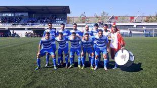 La AE Prat, uno de los equipos que se juega la permanencia en Segunda...