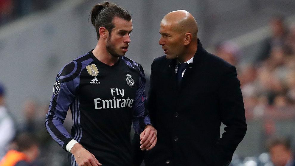 """Zidane: """"Bale no jugará contra el Sporting y ante el Bayern ya veremos"""""""