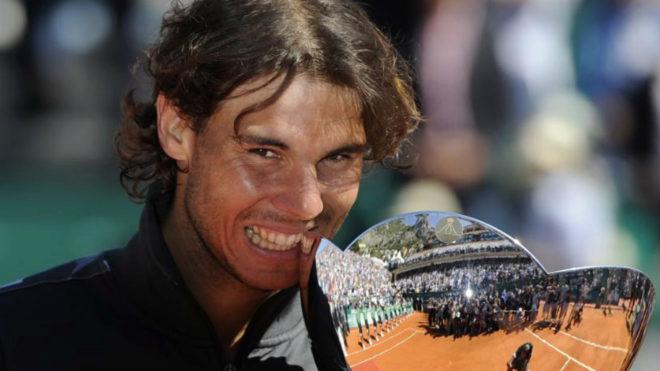 Nadal, con el torneo que ganó en Montecarlo en 2012