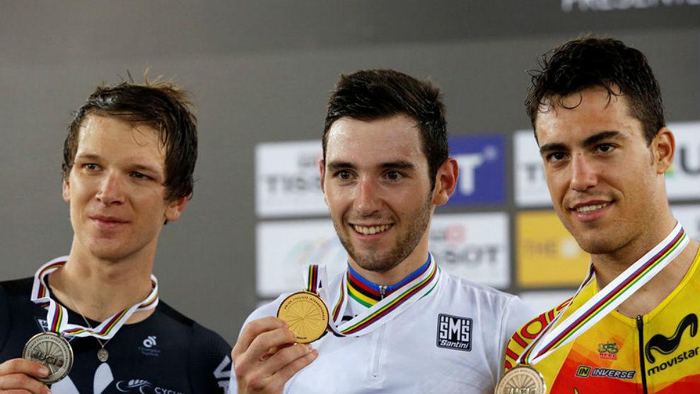 Thomas, Gate y Torres, en el podio de Hong-Kong.