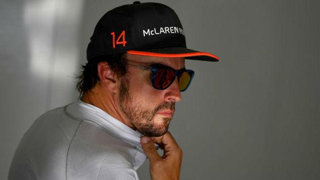 Fernando Alonso, durante el GP de Bahr�in