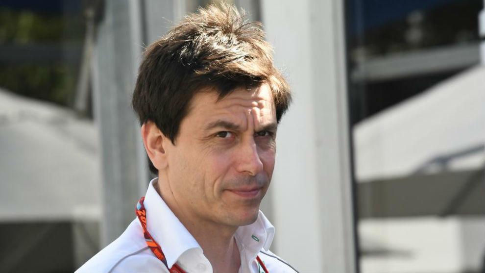Toto Wolff, director ejecutivo de Mercedes