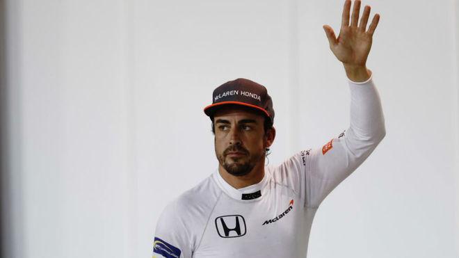 Fernando Alonso, en el pasado Gran Premio de Bahréin.