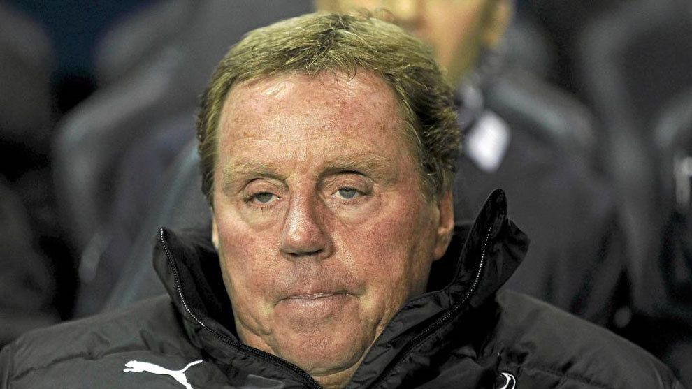 Harry Redknapp durante su etapa en el Tottenham