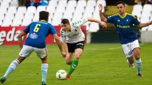 Imagen del encuentro disputado en enero en El Sardinero.