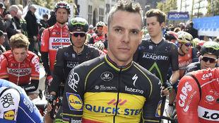 Gilbert ha pasado 48 hospitalizado tras su victoria en al Amstel.