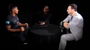 Anthony Joshua y Wladimir Klitschko