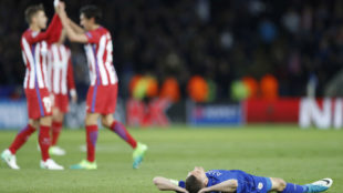 Champions: Atlético Madrid a semifinales tras igualar 1-1 ante Leicester City