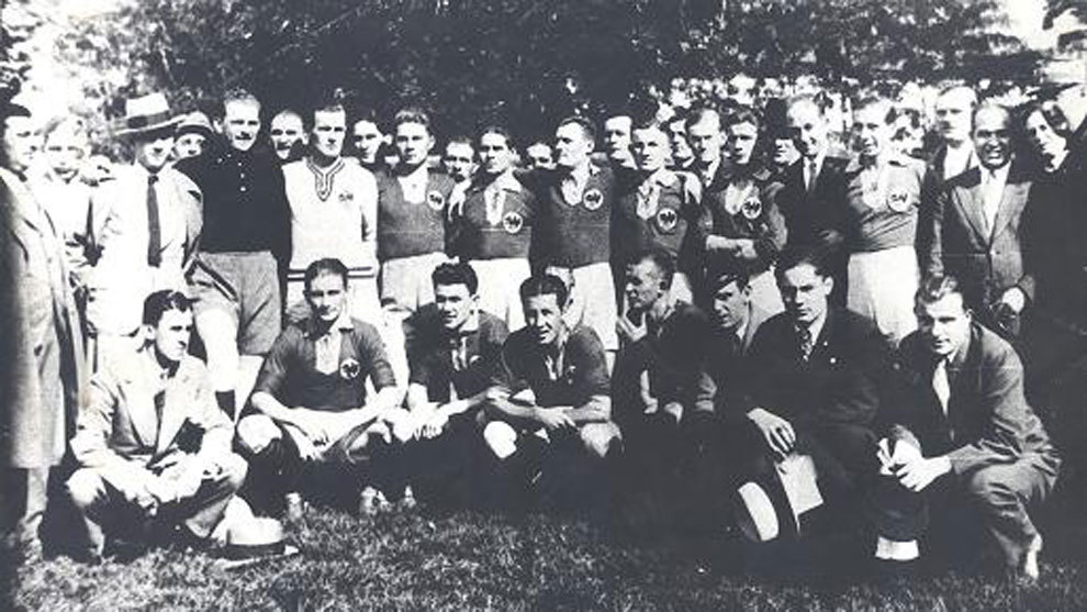 El Club Atletic Oradea en 1938