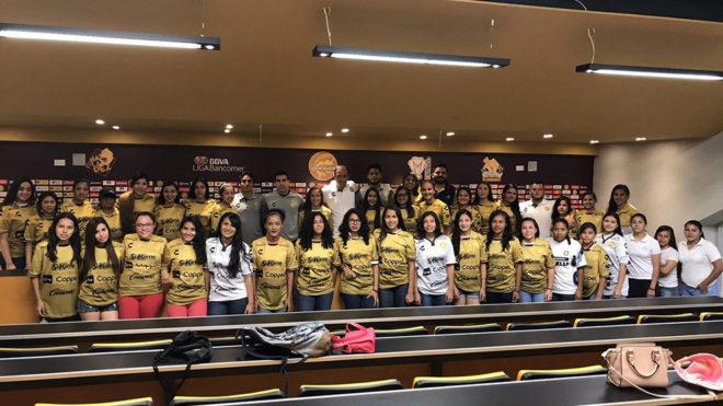 El equipo femenil de Dorados fue presentado en 2017