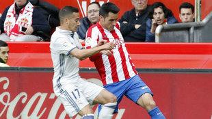 Isma López, en el partido contra el Real Madrid del pasado sábado