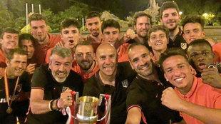 El Atlético de Madrid, vigente campeón.