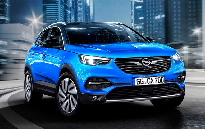 opel grandland x llega el hermano mayor de la familia suv. Black Bedroom Furniture Sets. Home Design Ideas