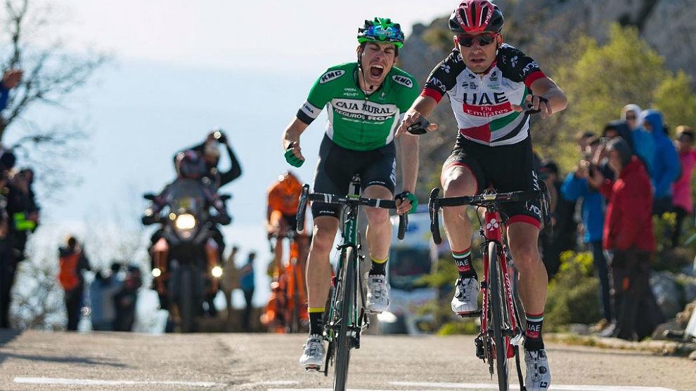 Rosón se lamenta de no haber podido ganarle la etapa al local...