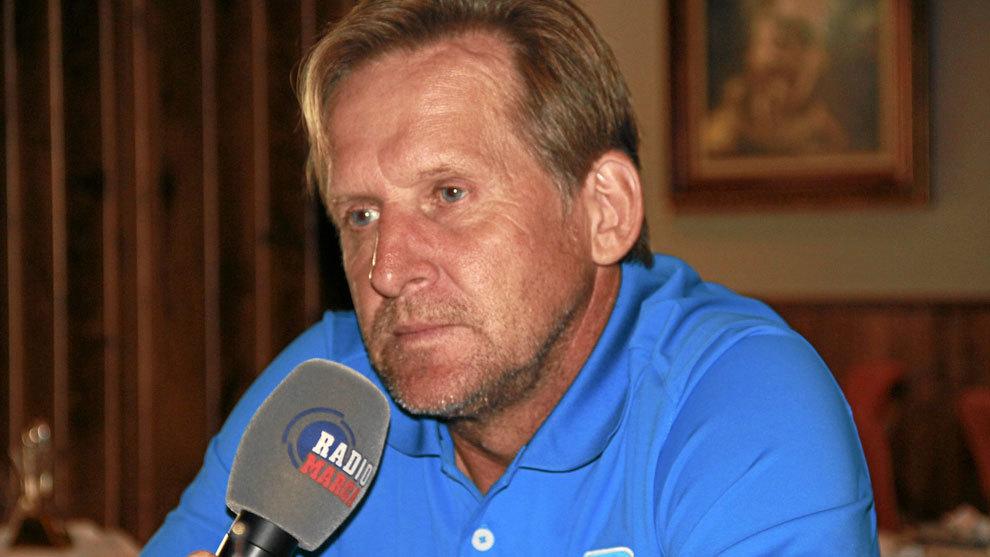 Schuster durante una entrevista en Radio Marca
