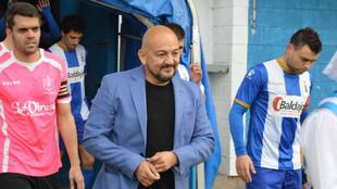 Álvaro López, durante un partido de esta temporada.