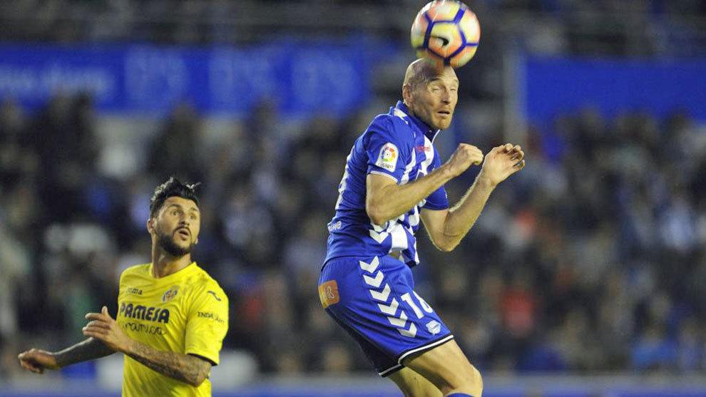 Toquero en el partido contra el Villarreal