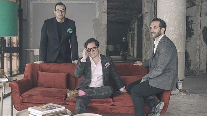 Rafael, Juan Diego y Mario Sandoval
