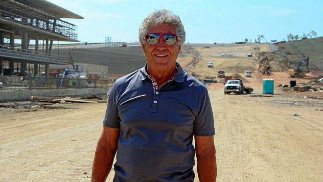 Mario Andretti, en una imagen de junio de 2012.