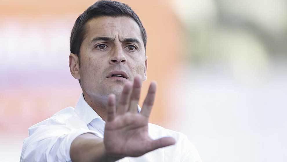 Francisco, durante el último partido del UCAM Murcia ante el Rayo...