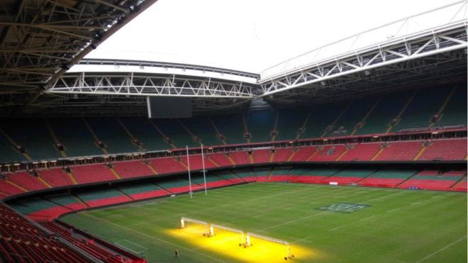 El estadio Nacional de Gales, sede de la final de la Champions
