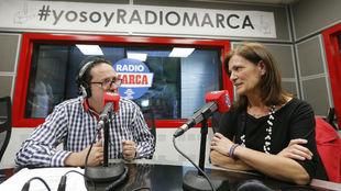 Vicente Ortega con Amaia Gorostiza